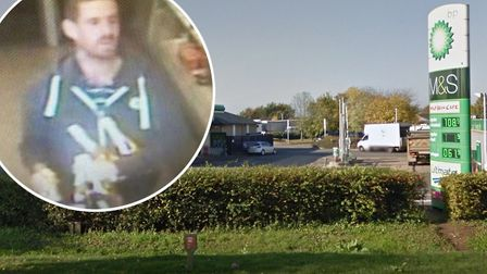 Do you recognise this man? Police want to speak to him in connection with a series of thefts at the