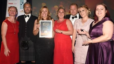 The winner of the New Business of the Year category at the 2019 Ely Standard Business Awards was Hea