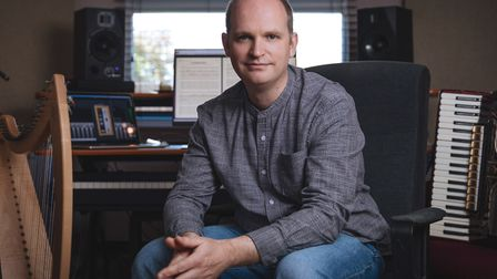Composer Chris Warner from Ely aims to take listeners through 46 billion lightyears with his debut a