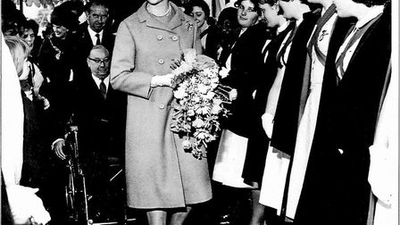 Princess Alexandra opens the Harlow Hospital in 1965. Picture: GEORGE TAYLOR