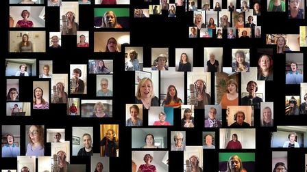 Members of Sing! Choirs have written and recorded 'A Calmer Place To Be' to help raise money for two