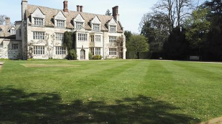 Archaeological dig uncovers Anglesey Abbey's past: Lawn returfed. Picture: NATIONAL TRUST IMAGES/SHA