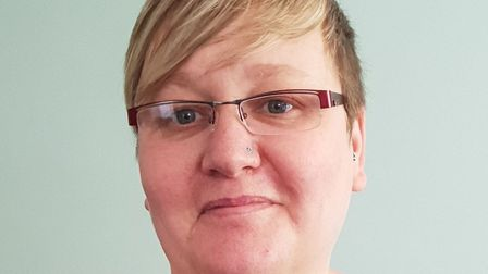 """Jenny Esson, NHS worker in Cambs, who has died. """"She was my love story of a lifetime, my sun and now"""
