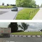 Kings Dyke contract awarded: The route bypasses the existing road and is reached through roundabouts