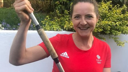 Olympic bronze medallist Golie Sayers will be throwing her javelin again to take part in the 2.6 Cha