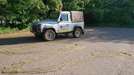 A major operation by Environment Agency officials and Cambridgeshire police released fish trapped illegally on the Old...