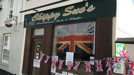 More than 200 fish and chip dinners were delivered to the elderly and vulnerable in Whittlesey on VE