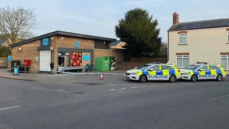 Staff at Beck Road Co-op in Isleham will benefit from a crowdfunding project organised following rob