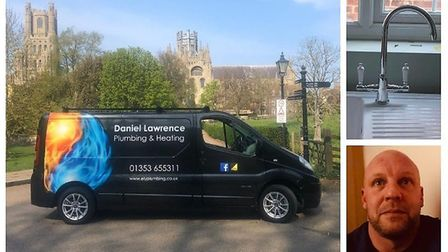 Daniel Lawrence Plumbing Heating & Drainage in Ely hasn't been charging NHS staff for jobs during th