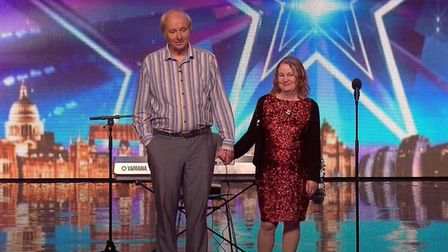 Introducing Tony and Patsy Gosling aka Topaz on Britain's Got Talent in 2016. Picture: ITV/YouTube