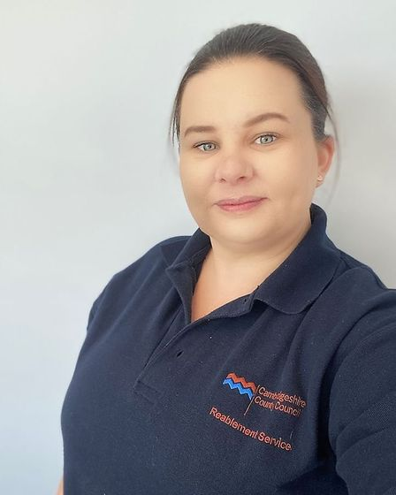 Rebecca Garry, occupational therapy team manager at Cambridgeshire County Council. Picture: Submitte