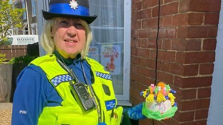 Police in Fenland held an Easter hat competition and there were 39 creative and colourful entries fr