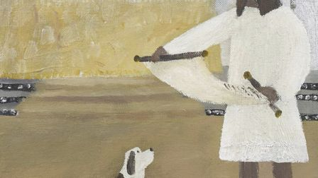 Gary Bunt is now running a video tour of his 'Bert, his dog, our God' exhibition. Here is 'The Villa
