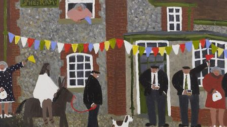 Gary Bunt is now running a video tour of his 'Bert, his dog, our God' exhibition. Here is 'The Trium