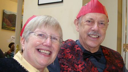 Ely couple Susan and Laurie Chapman say that being able to sing in Dementia Sing, a virtual choir ru