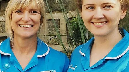Sue Ryder Care are pleading for urgent support during the coronavirus pandemic.Some of the team is p