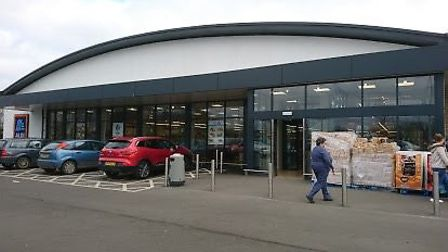 A man has been charged with criminal damage following an incident at Aldi in Chatteris