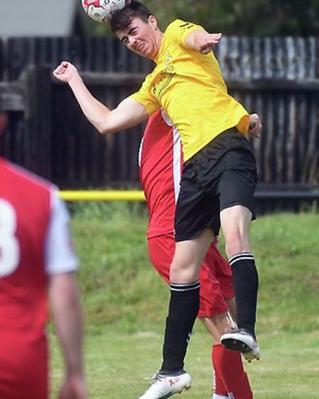 Defender Jamie Short was named as supporters' player of the year after an impressive season. Picture