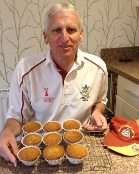 Members of March Town Cricket Club took to their kitchens as part of a baking competition to help th