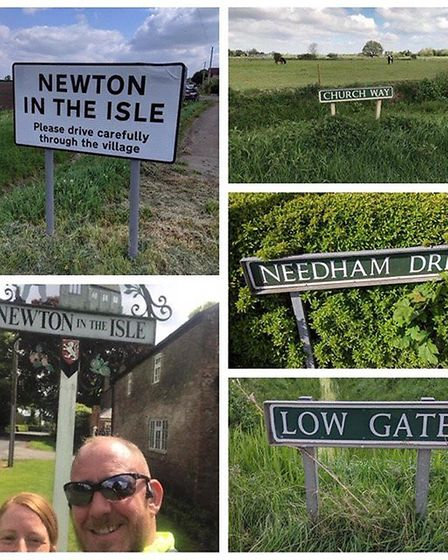 Spelling was the aim for members of Three Counties Running Club who took part in a street name chall