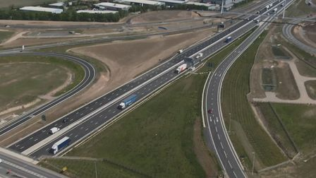 A14 in just a minute? Here's how we did it - with a time lapse dash cam footage. Pictures; TERRY HAR