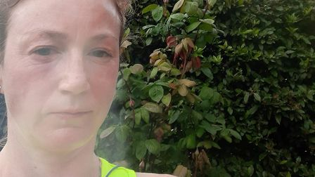 Lauren Buffini aims to run 100 miles in her garden for NHS Charities Together and has already compet
