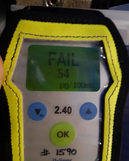 Officers arrested drivers in Wisbech and March on suspicion of drink driving. Picture: FACEBOOK/POLI