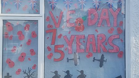 Dozens of homes in Chatteris took up the challenge to commemorate VE Day 75. Our thanks to those who