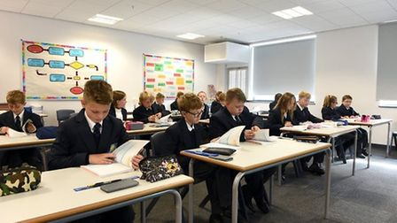 Pupils studying at the Littleport & East Cambridgeshire Academy. Picture: SUBMITTED