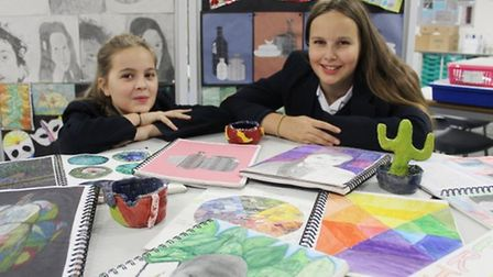 Students and staff at Littleport and East Cambridgeshire Academy were rewarded with the Artsmark Gol
