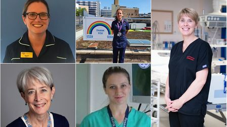The hard work of nursing staff at Addenbrooke's Hospital has been highlighted to celebrate Internati