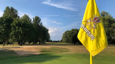 Ely City Golf Club is open once more (pic Paul Geen)