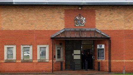 Charlotte Burgess attempted to deliver Class B drugs into HMP Whitemoor in March by embracing a pris