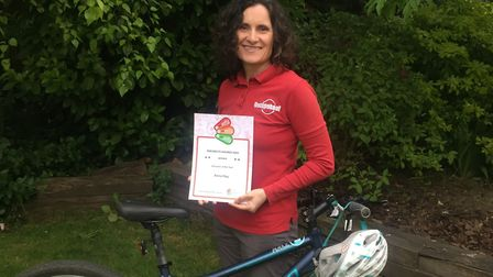 Cycle instructor Anna Hay (pictured) of Haddenham scooped the Instructor of the Year Award at the na