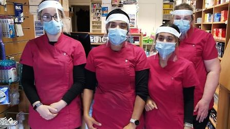 King's Ely have made and donated more than 800 personal protective equipment (PPE) face shields to l