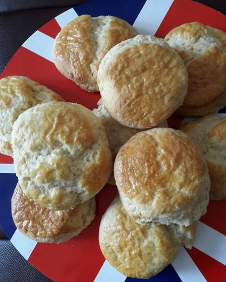Villagers have been sending snaps of what they have baked during the coronavirus lockdown as part of