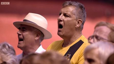 Sutton teacher Stuart Green had to the chance to perform Nessun Dorma at the Emirates Stadium in 201