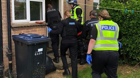 Police raided a home in High Barns, Ely for drugs but found nothing but paraphernalia and a knuckled