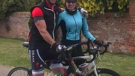 Three Counties Running Club members took on a running and cycling challenge, while Mark Mattless cov