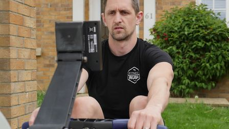 Liam Rushmer completed a 27-hour fitness challenge to help raise funds into brain tumour research af