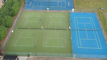 Ely Tennis Club is glad to be back in action as they reopened their courts to the public after coron