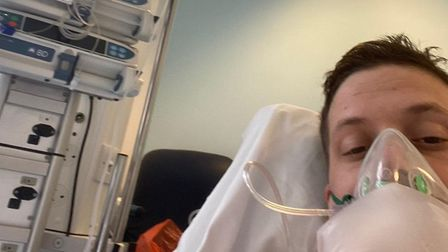Doddington plumber Dan Eggleton spent two weeks on a ventilator in a medically-induced coma fighting