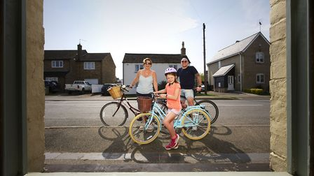 Witchford residents taking part in their daily exercise. Pictures: Paul Close Photography/www.paul-c