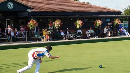 Players could soon be back on bowling greens although with some restrictions. Picture: HARPENDEN BOW