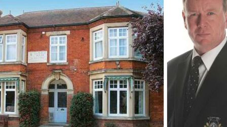 Clovelly House, March, run by Malcolm George (right) has been criticised in a Care Quality Commissio