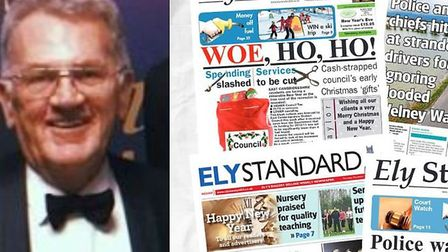 We are asking for your support to build a sustainable future for the Ely Standard. Editor John Elwor
