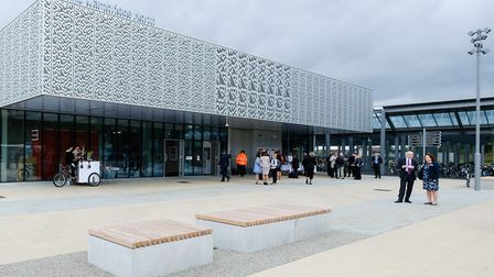 Cambridge North station opened on May 21, 2017 and saw passenger numbers grow by 66 per cent in 2019