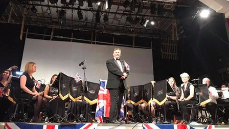 Andy King, conductor of the Great Dunmow Town Band, whose concert raise money for Emma Marcus' mayor