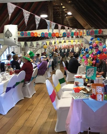 Fun at the Mad Hatter's Tea Party