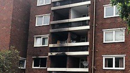 Burwell man arrested on suspicion of arson in connection with flat fire in Carlton Way, Arbury, Camb